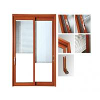 Quality Powder Painted Aluminium Glass Sliding Doors / Aluminum Window Frame Extrusions for sale