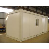 Quality Sandwich Panel Prebuilt Recycled Modified Conex Box Homes , Easy to be Assemble for sale
