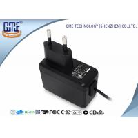 Quality EN60950/60065 EU Plug Wall Mount Power Adapter with CE GS Safety Mark for sale