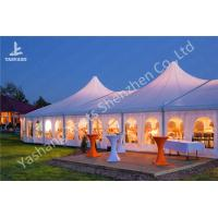 Buy cheap High Peak Lining Style Aluminum Frame Tent Structure For Wedding Receptions from wholesalers