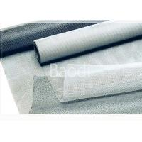 Quality PVC Window Fly Screen Mesh With Fiberglass Wire / 30 - 50 M Roll Length for sale