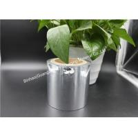 Quality Matt Silver Aluminized Polyester Film For Industry Water Vapor Resistant for sale