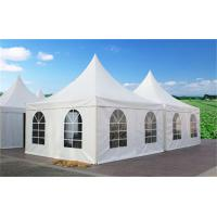 Aluminum Frame  Material Commercial Party Tent Self Cleaning With Outdoor Rooftop for sale