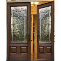 Quality beveled glass in door for sale