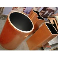 Double Taper Copper Mould Tube For Metal Continuous Casting Crystallizer for sale