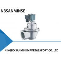 China Double Diaphragm Pulse Valve Pulse Jet Solenoid Valve 24VDC / 110VAC SBFEC Type on sale