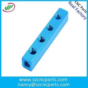 China Custom OEM Precision Aluminum Bead Blasting Laser Light CNC Parts on sale