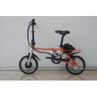 Quality Folding Electric Bike (TDU1201Z) Orange & White for sale
