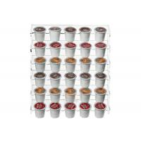Buy 4mm Wall Mounting Clear Beverage Display Rack Superior Acrylic at wholesale prices