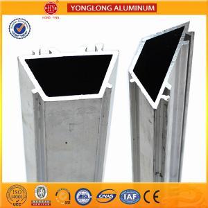 Quality T5 , T6 Temper Heatsink Extrusion Profiles / Aluminum Window Frame Profile for sale
