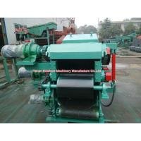 60hp Diesel Engine Drum Wood Chipper And Shredder PLC Control CE Certificated for sale