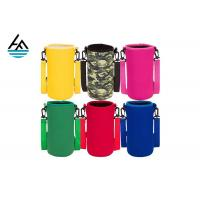 China Colorful Printed Can Cooler Bag , Neoprene Can Cover Simple Fashion Diving Material on sale