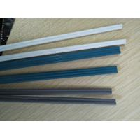 Buy 4mm single diameter black color hdpe pp plastic welding bars in rolls at wholesale prices