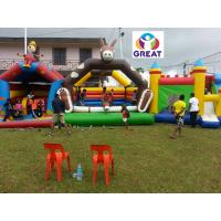 Buy 2016 hot sell inflatable bounce house with 24months warranty GT-BC-1840 at wholesale prices
