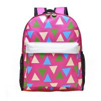 Quality Pink Printing Polyester Kids School Backpacks For Teenage Girls 28*37*12 CM for sale