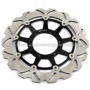 China High Strength Custom Motorcycle Brake Rotors For Racing Bike Parts on sale