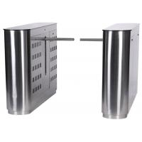 Quality 304 Stainless Steel Mechanical Antipinch Auto Drop Arm Turnstile for sale