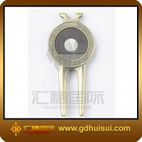 Quality zinc alloy golf ball divot tool for sale