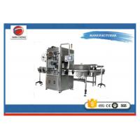 Quality Full Automatic Bottle Labeling Machine 220V 2KW Stainless Steel Unique Cutter System for sale