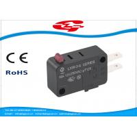 Quality SPDT 3 Terminals Electrical Rocker Switches , Mini Push Button Switch LXW-3 Series for sale