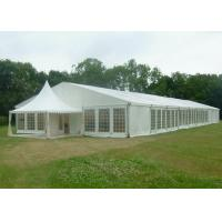 Quality 15 X 50 Canvas Wedding Party Tent Flame Retardant Hard Plastic ABS Wall for sale
