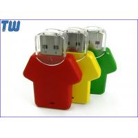 Quality Uniform Plastic 16GB USB Thumb Drive Customized Color and Printing for sale