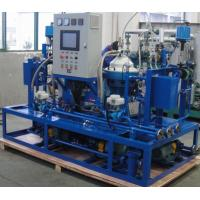 Quality Custom Centrifugal Hfo Purifier Separator , Lube Oil Purification System for sale