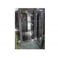 Quality Laboratory Cleanroom Pass Box With Mechinaical Interlocker / Clean Room Equipment for sale