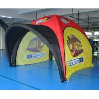 China Small Inflatable Advertising Tent , Inflatable Tailgate Tent Commercial Grade Sewing Style for sale