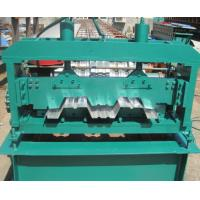 Quality Floor Deck Forming Machine Coil Width 1700mm Anti - Rust Floor Deck Roll Forming Machine Tensile Strength 720 Mpa for sale