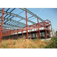 High Tensile Pre Engineering Steel Building Warehouse Solid Insulation for sale