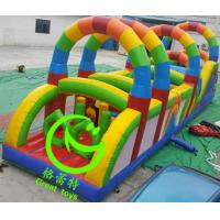 Quality New design  inflatable obstacle course for sale  with 24months warranty GT-OBS-0536 for sale
