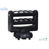 Quality Spider 8 Eyes LED Beam Moving Head Light For Night Club Adjustable Strobe Speed for sale