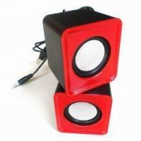 Quality Coloful USB Mini Speaker Wok with Laptop, PC, MP3, MP4, Apple's iPhone and iPod for sale