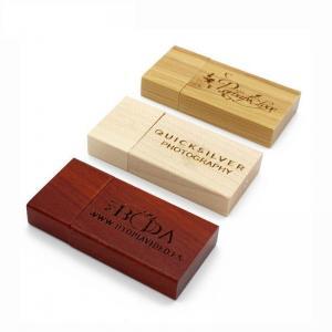 China Wooden block USB Flash Drive 4GB on sale