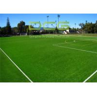 Quality Easy Installed Soccer Artificial Grass / Fake Grass Mat With PP Bag Packing for sale