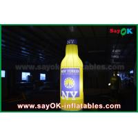 Quality Eco-friendly Inflatable Wine Beer Custom Inflatable Products For Promotion or Commercial Advertising for sale