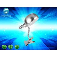 China Stainless Steel LED Desk Lamp Clip Light , 3W LED Book Lights For Reading on sale
