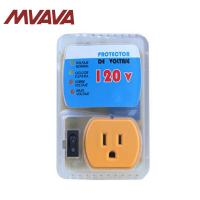 Quality MVAVA 20A US Standard Socket Yellow PC Panel Home Appliance Surge Protector Voltage Socket US Plug for sale