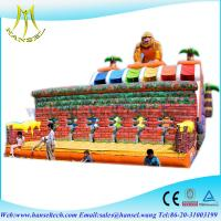 Quality Hansel Combinated Indoor Inflatable ball pitching machine for amusement park for sale