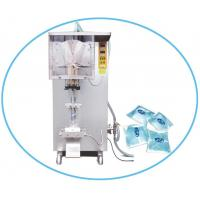 China Drinking mineral pure Water sachet pouch filling and sealing machine factory on sale