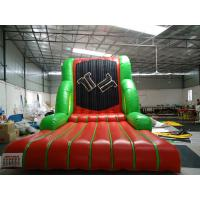 Quality Durable Adult Inflatable Soports Games / Inflatable Velcro Wall For Kids Or Adults for sale