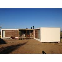 Quality Steel Structure Modern prefabricated Houses , Uruguay Bungalow Home Plans for sale