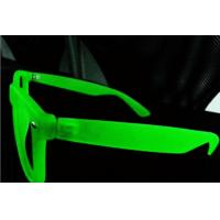 Quality Fluorescence 3d Diffraction Glasses With Pc Clear Diffraction Lens Eco Friendly for sale
