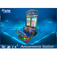 Quality Game center Happy car racing coin operated lottery redemption game machine for sale