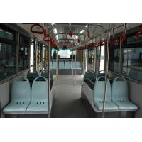 Buy Comfortable 14 Seater International Airport Bus With BRIDGESTONE Tire at wholesale prices