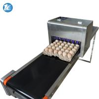Quality Touch Screen Egg Spraying Machine , Egg Printer Machine 6 Nozzles for sale