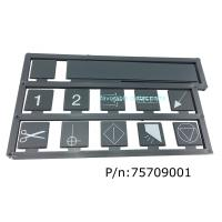 Quality Cutter Parts GTXL 75709001 KEYBOARD, SILKSCREEN, Especially Suitable For Gerber Cutter GTXL for sale