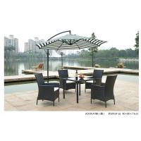 Quality 2014 wicker rattan outdoor dining table chair set for sale