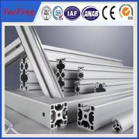 Quality 6063 6061 extrusion aluminum for industry, 6000 series industrial aluminum extrusions for sale
